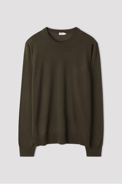 M. Merino R-Neck Sweater