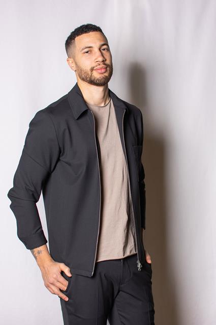 Jason Stretch Twill Overshirt