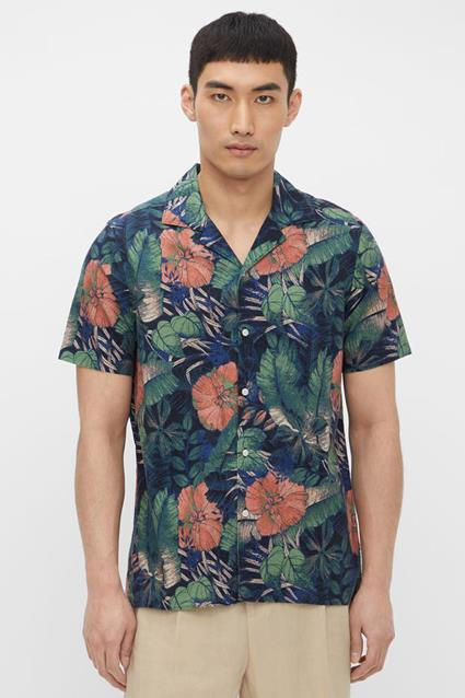 Seasonal Print SS Resort Shirt
